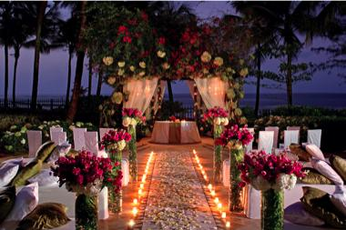 Evening Ceremony Ritz Carlton Grand Cayman