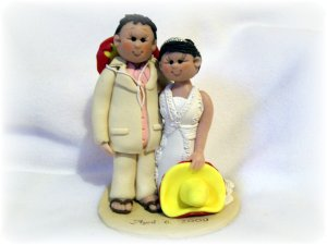 Mexico Themed Custom Cake Topper, Lynns Little Creations