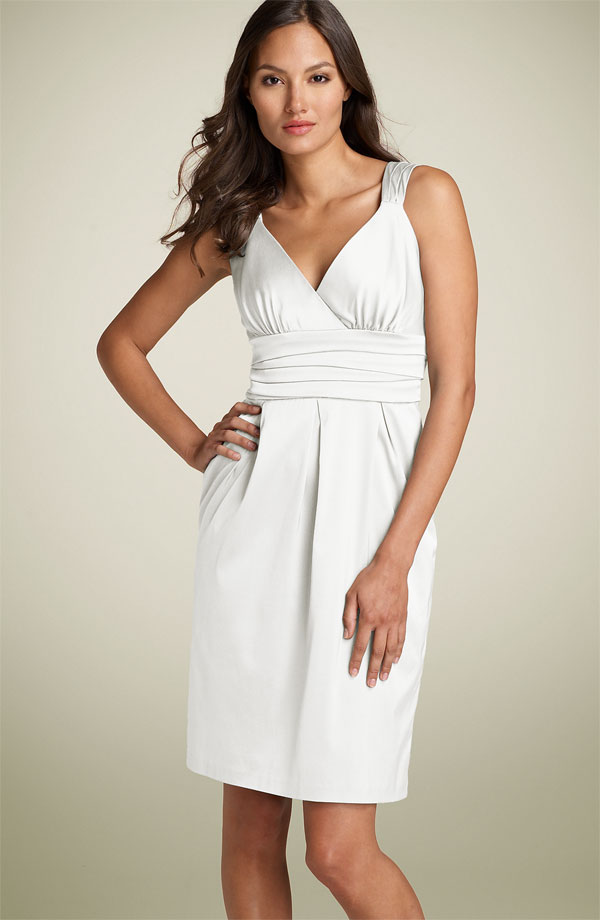 Maggy London Stretch SatinDress