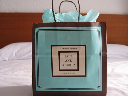 Chic DIY Paper Welcome Bag
