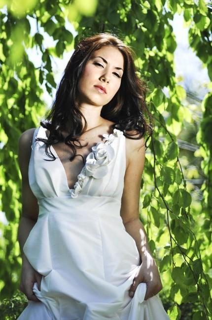 Handmade Silk Dupioni Dress