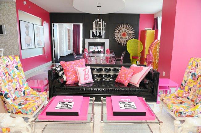 Barbies Dream Bachelorette Suite at the Palms