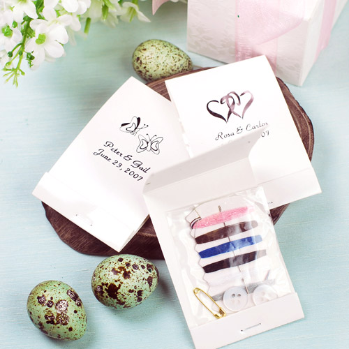 Sew In Love ~ thoughtfully included in guests favors