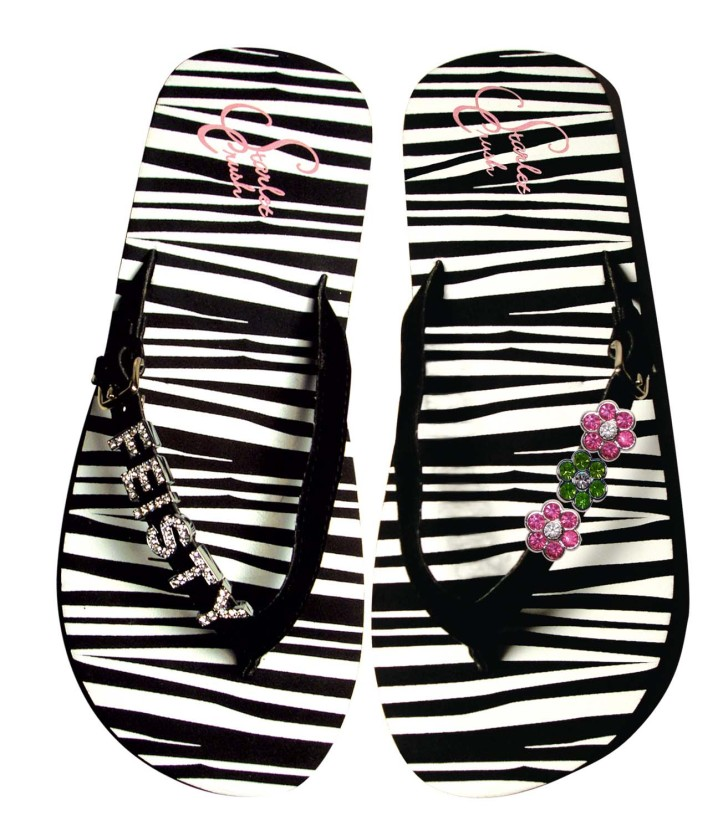 Personalized Flip Flops Perfect For Destination Weddings