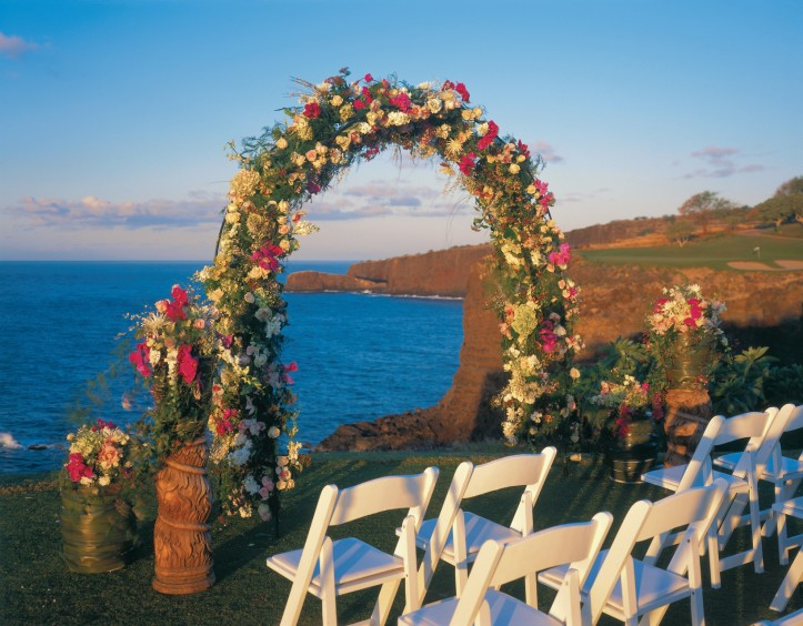 Destination Wedding Four Seasons Lanai