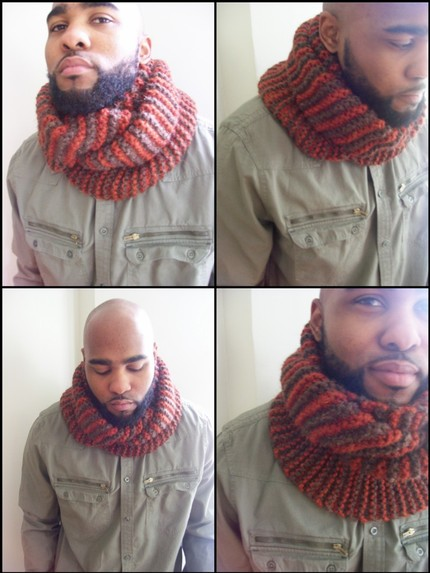 Hooded Cowl Scarf