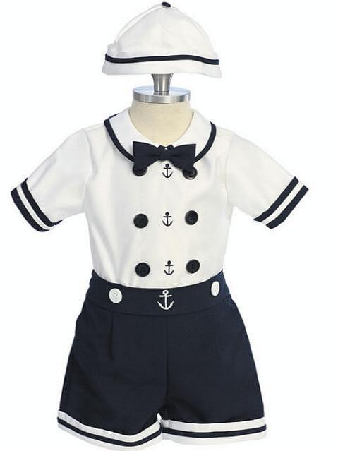 Sailor Suit Perfect For Your Ring Bearer