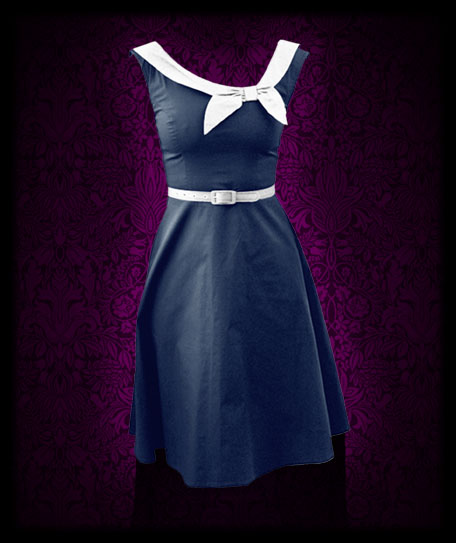 Vintage Sailor Dress Perfect For Nautical Wedding