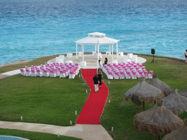 Stunning Location with Just a Pop of Color = Huge Impact