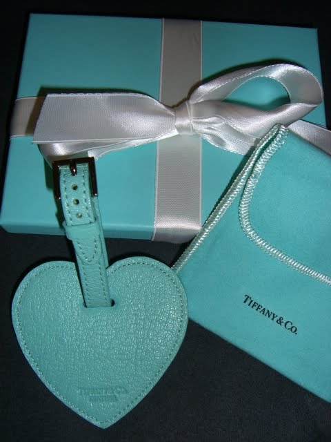 Luggage Tag Love From Tiffany and Co