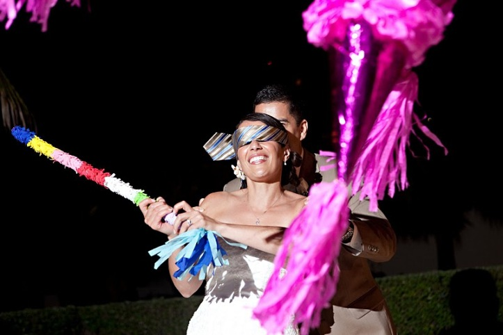 Pinata is lots of fun especially for Bride and Groom