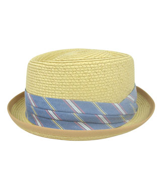 Elegant Traditional Straw Hat Perfect For Destination Groom