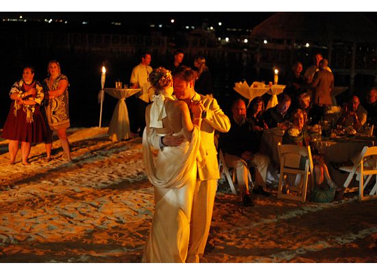 Dancing the Night Away at the Isla Mujeres Palace