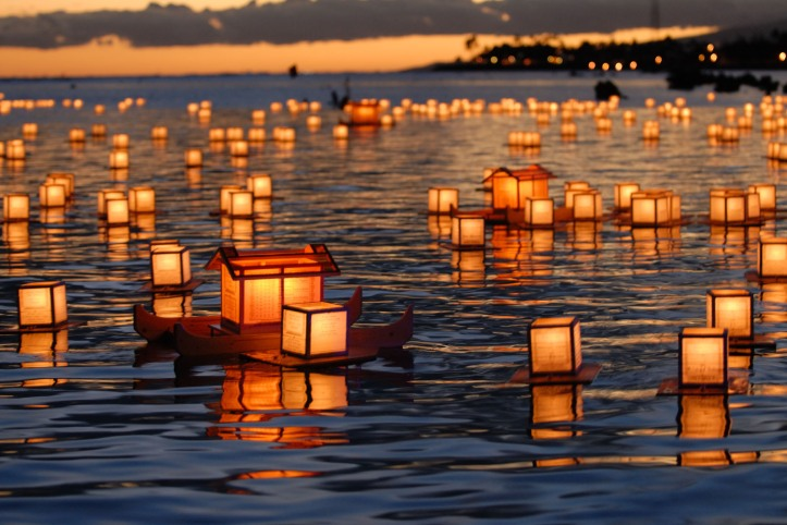 Annual Lantern Memorial Floating Hawaii