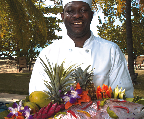Each Villa Has It's Own Chef
