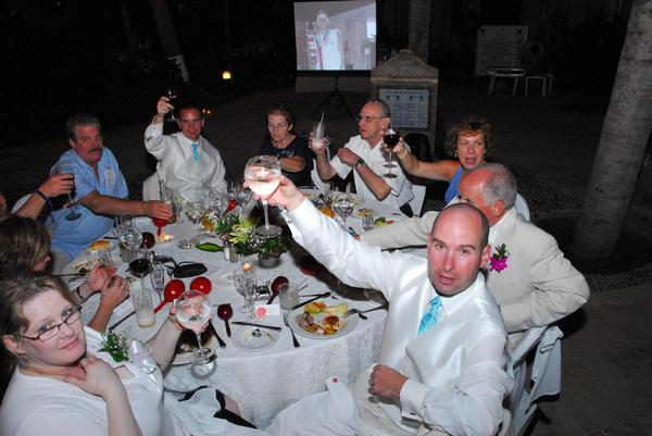 Dinner Reception Dreams Puerto Vallarta