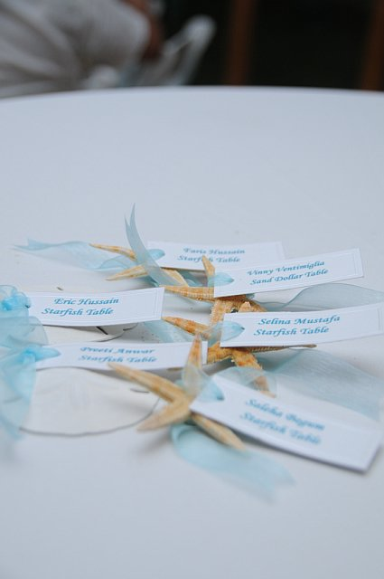 Star Fish Place Cards
