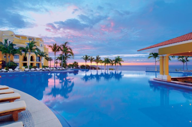 One of Three Pools at Dreams Los Cabos