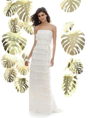 Destination Wedding Gown by Dessy
