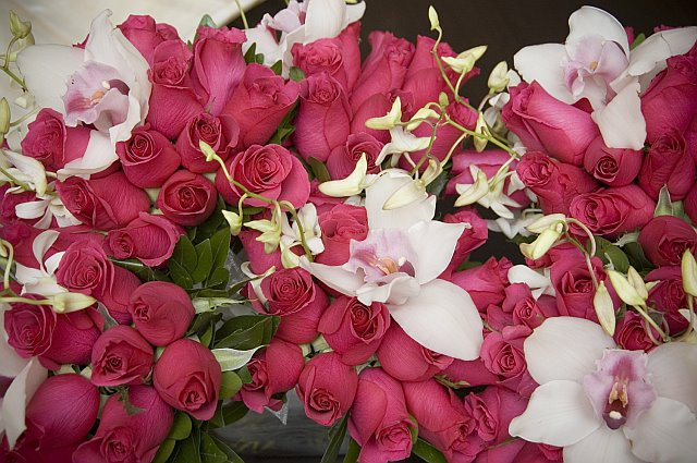 Rose and Orchids Make Stunning Bouquets