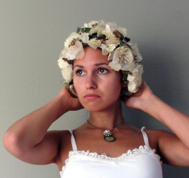Clea, 50's Jille Originals Flower Cap