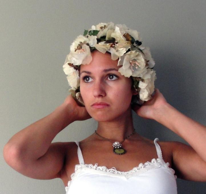 Clea, 50's Jille Originals Flower Cap