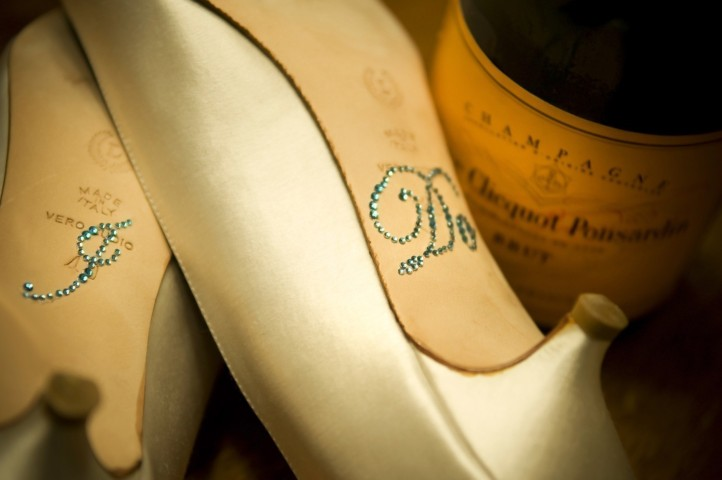 Crystal I Do Stickers for your Shoes from Your Happily Ever After