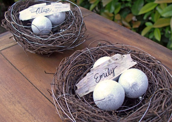 Nest Place Cards Available at April Hiler