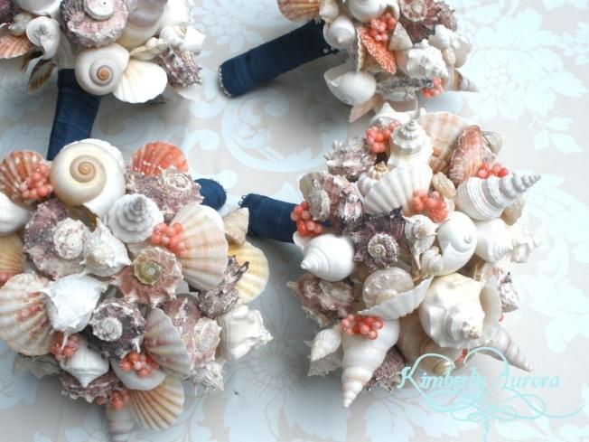 Handmade Seashell Bouquets