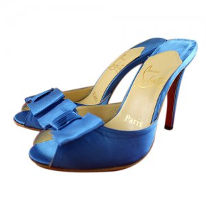 Christian Louboutin Satin Sandals