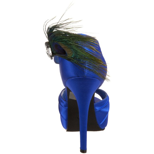Johnathan Kayne, Peacock Platform Sandal
