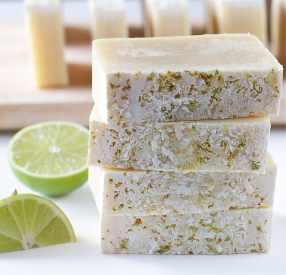 DIY Coconut and Lime Soap Destination Wedding Welcome Gift