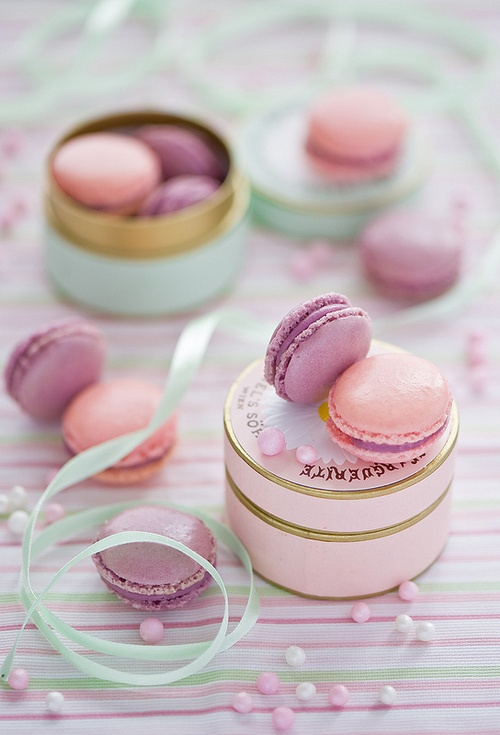 Macaron Destination Wedding Welcome Gift
