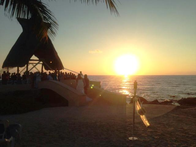 sunrise wedding Dreams Puerto Aventuras Destination Wedding Planning