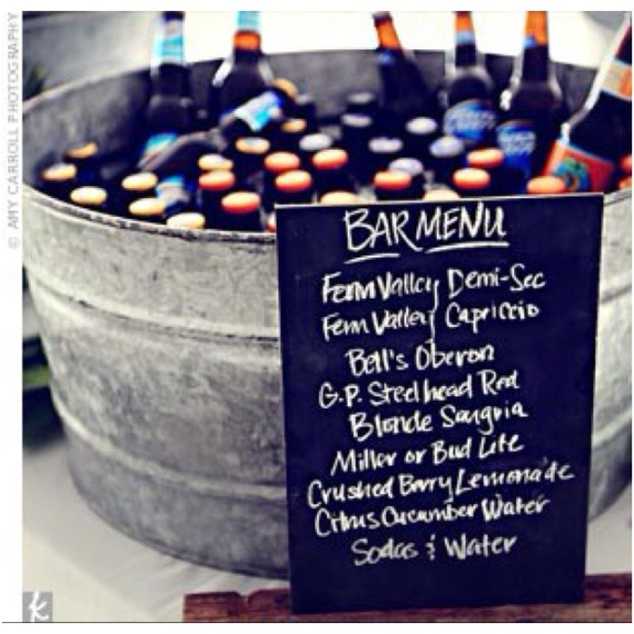 Chalkboard Ideas Destination Weddings