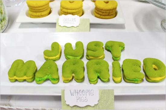 Whoopie Pie Themed Destination Wedding Inspiration