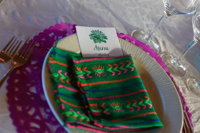 Destination Wedding Menu Mexican Wedding