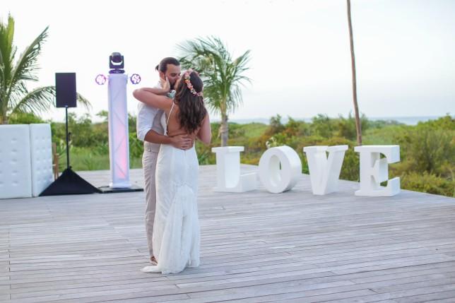 Boho Beach Destination Wedding in Mexico