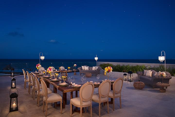 Suite Balcony Wedding Reception
