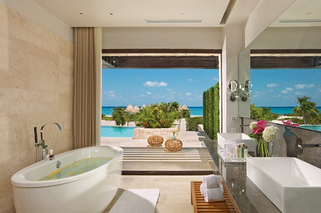 Bathroom Presidential Suite Dreams Playa Mujeres