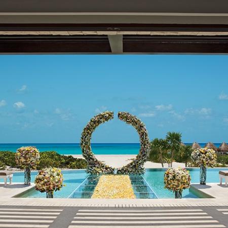 Dreams Playa Mujeres Destination Wedding Presidential Suite Wedding