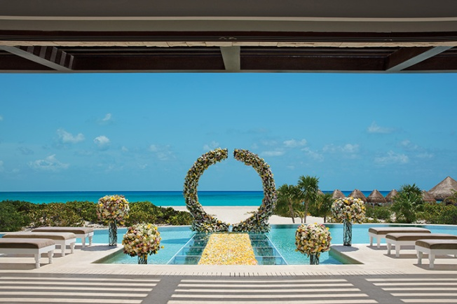 Dreams Playa Mujeres Destination Wedding Presidential Suite Wedding